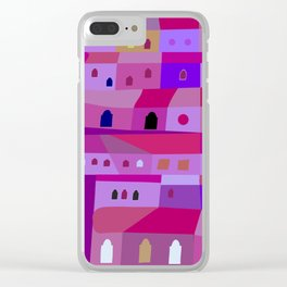 Ecatepec de Noche Clear iPhone Case