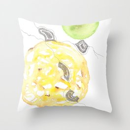 Scandi Micron Art Design | 170412 Telomeres Healing 18 Throw Pillow