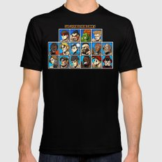 Street Fighter Player Select MEDIUM Black Mens Fitted Tee