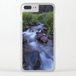 Rocky Mountain h2o Clear iPhone Case