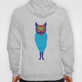 Animal Mardi Gras: Owl Hoody