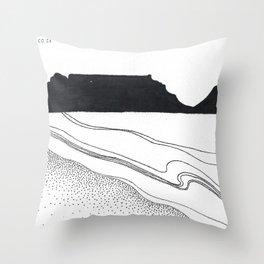 Cape Town Throw Pillow