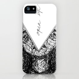 open up iPhone Case