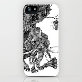 the wandering library 2 iPhone Case