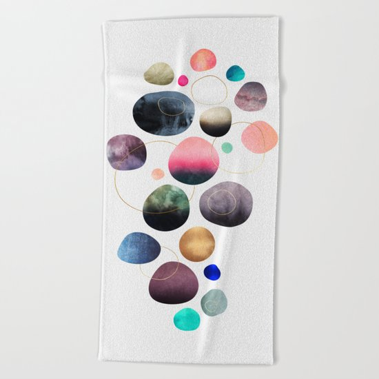 My favorite pebbles Beach Towel