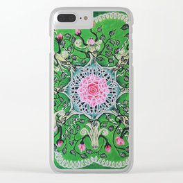 Rose tree / Roosipuu Clear iPhone Case