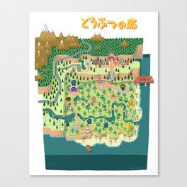 Animal Crossing (どうぶつの 森) Canvas Print