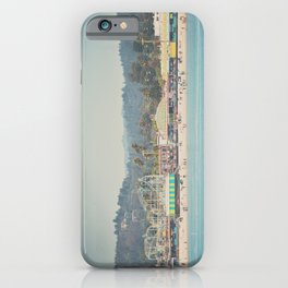 looking back on the boardwalk ...  iPhone Case
