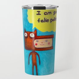 Wolfboy Travel Mug