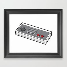 NES Framed Art Print