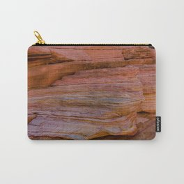 Colorful Sandstone, Valley of Fire - IIa Carry-All Pouch