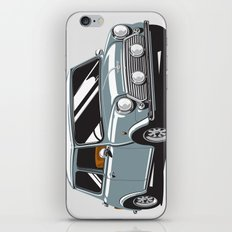 Mini Cooper Car - Gray iPhone & iPod Skin