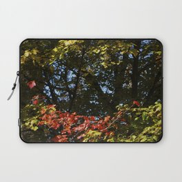 The Leaves Were Smiling at Me, and I Didn't Even Know Laptop Sleeve