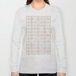 Pattern Rose Long Sleeve T-shirt