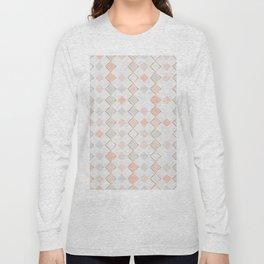 Pattern Rose Long Sleeve T-shirt
