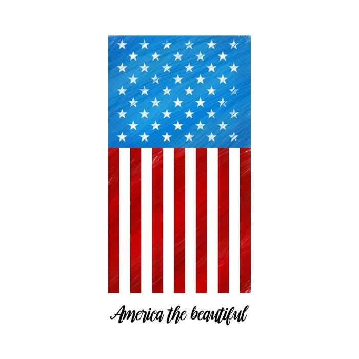 America the Beautiful Comforters