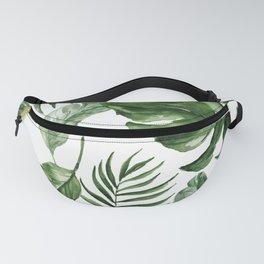 Tropical Leaf Fanny Pack