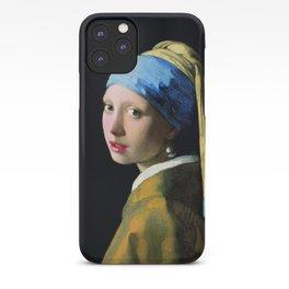 Jan Vermeer Girl With A Pearl Earring Baroque Art iPhone Case