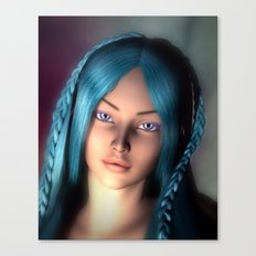 My Lady D'Arbanville Canvas Print