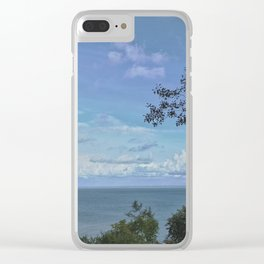Above the tree tops Clear iPhone Case