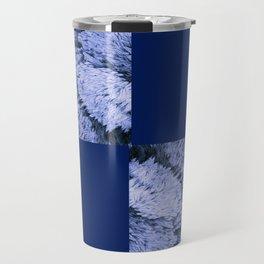 Season of the Square - Sapphire Check Travel Mug