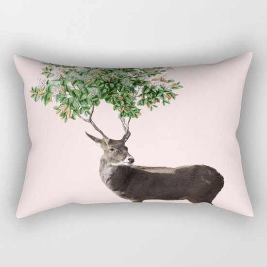 One With Nature V2 #society6 #decor #buyart Rectangular Pillow