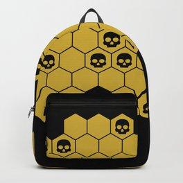 Honey Skulls - Black Backpack