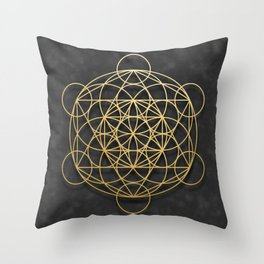 Merkaba Throw Pillow