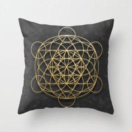 Merkaba Throw Pillow