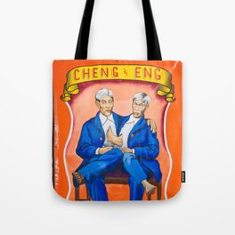 Cheng & Eng Sideshow Banner Tote Bag