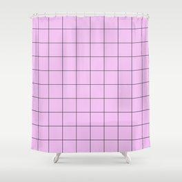Pink Gatekeeper Shower Curtain