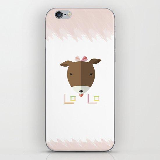 LOLO in ORIGAMI iPhone & iPod Skin