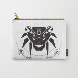 School of the Bear - Black Carry-All Pouch
