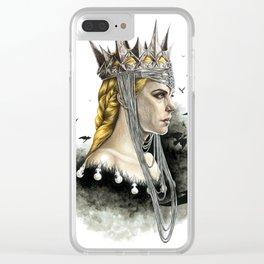 Queen Ravenna Clear iPhone Case