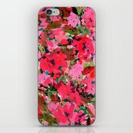 Wild Rose Garden iPhone Skin