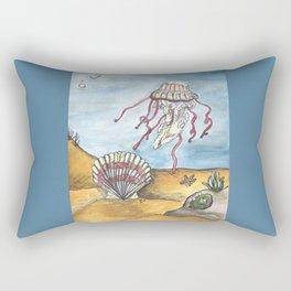 Undersea Original Drawing Rectangular Pillow