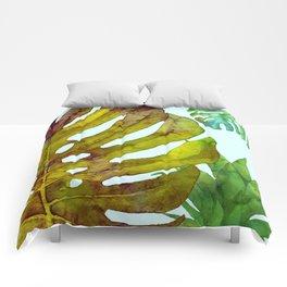 Prepared Monstera Comforters