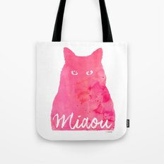 MIAOU rose Tote Bag