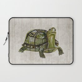 Little Turtle, Forest Animals, Woodland Decor, Woodland Art, Laptop Sleeve