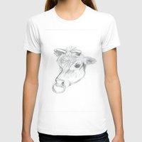 bull T-shirts featuring Bull by Kate Burton