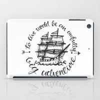 hook iPad Cases featuring Hook by Corina Rivera Designs