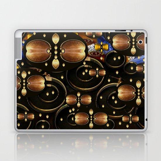 Pattern With Wings Laptop & iPad Skin