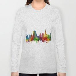 Rostock Germany Skyline Long Sleeve T-shirt
