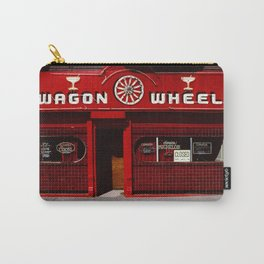 Wagon Wheel Bar, San Francisco Carry-All Pouch