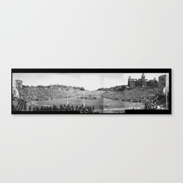 WVU Stadium and Field Canvas Print