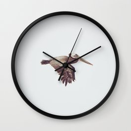 Solo Flight Wall Clock