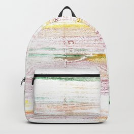 Baby powder abstract watercolor Backpack