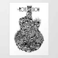 The Rock Show Art Print
