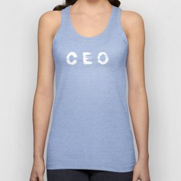 Entrepreneur CEO design - Business Hustle Tee For Owners Unisex Tank Top