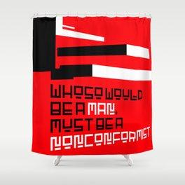 Frank Lloyd Wright Shower Curtain